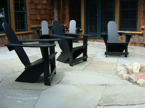 Black Westport Breadloaf Chairs