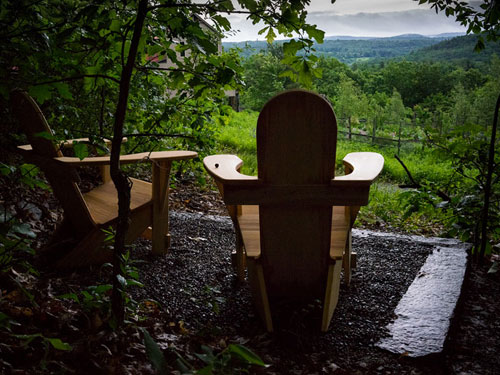 Breadloaf Chairs in the Hudson River Valley