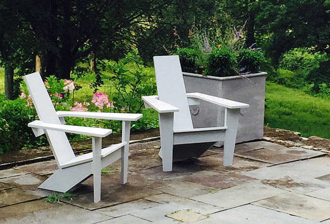 Introducing Our New Mid Century Modern Style Adirondack Chair