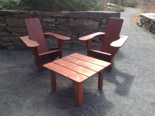 Mahogany Westport Set, Twin Farms, Vermont