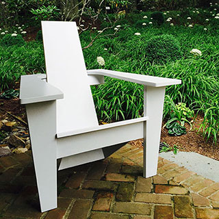 Mid-century Modern Adirondack Chair & Home - Jardinique Classic Outdoor Furniture