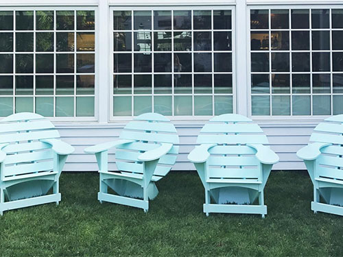 Pretty Lodge Chairs in Amagansett, NY