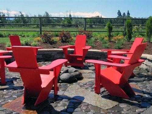 Westport Chairs around the Firepit