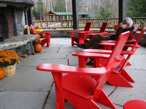 Classic Westport Chairs, Lake Placid Lodge, Lake Placid, NY