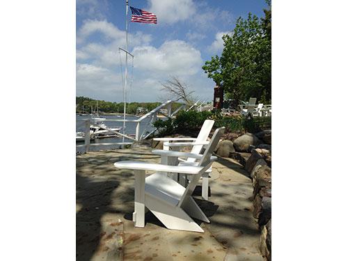 Westport Chairs overlooking Long Island Sound