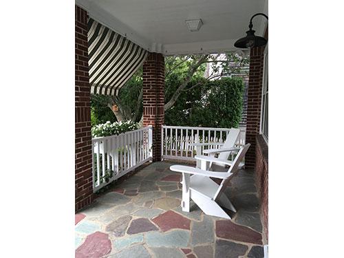 Westport Chairs; pretty in white