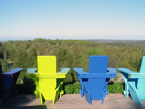 Westport Chairs with a View