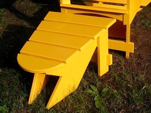 Yellow Foot Stool