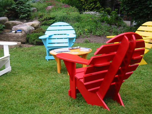 Colourful Lodge Chair Set