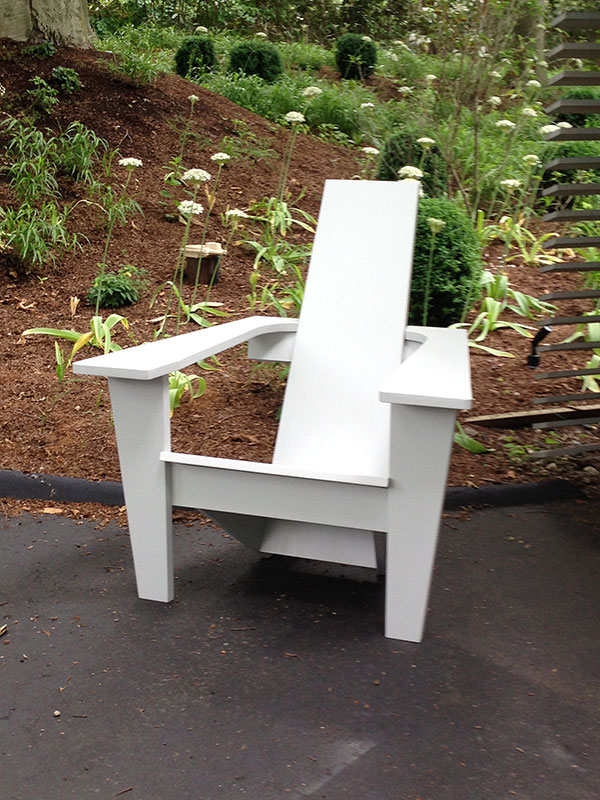 Mid Century Modern Adirondack Chair Jardinique Classic Outdoor Furniture